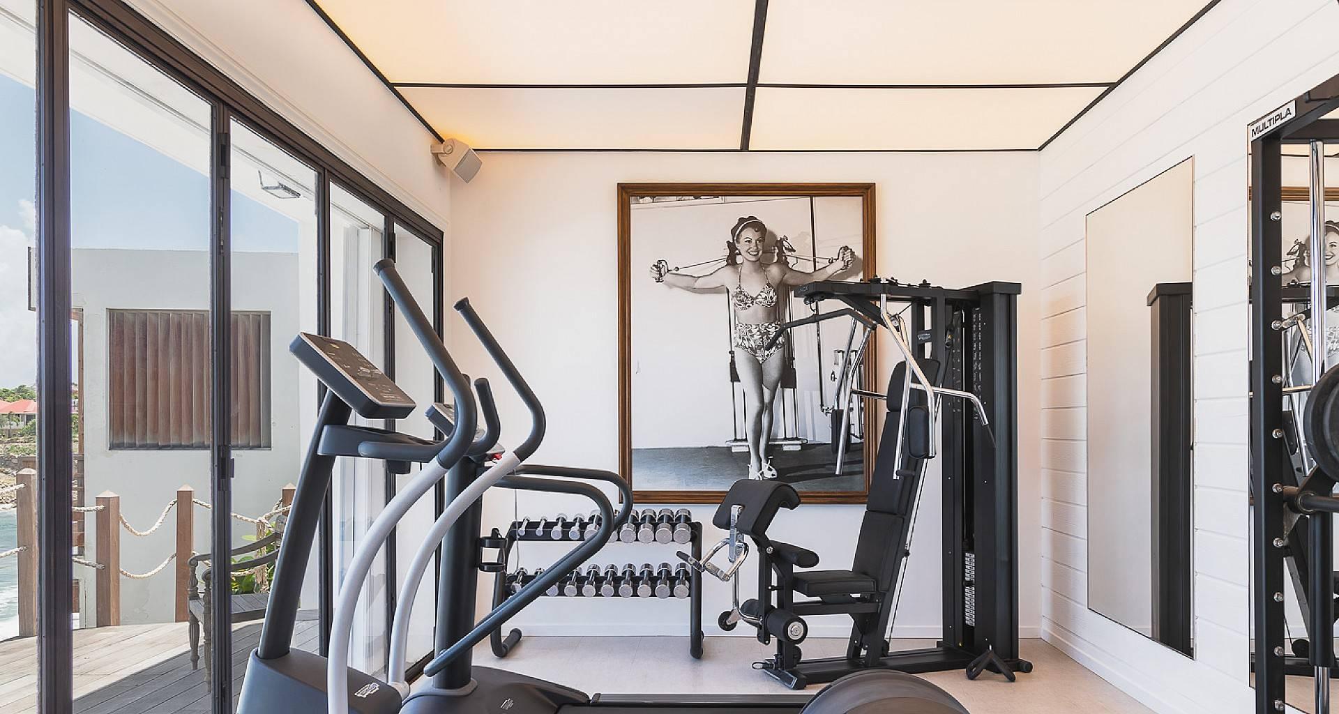 Villa Les Lataniers Fitness Room
