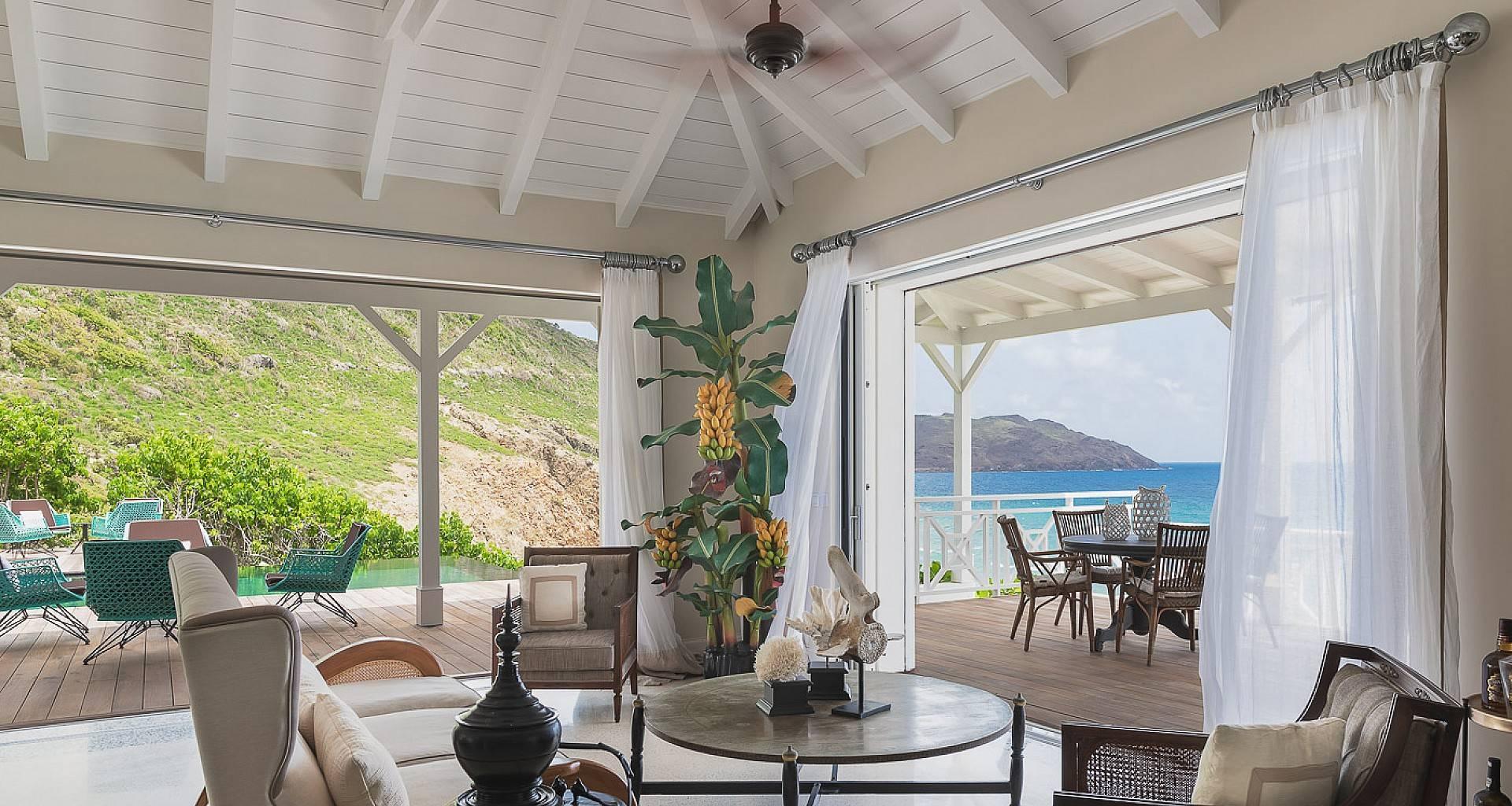 Villa Les Lataniers Living Area