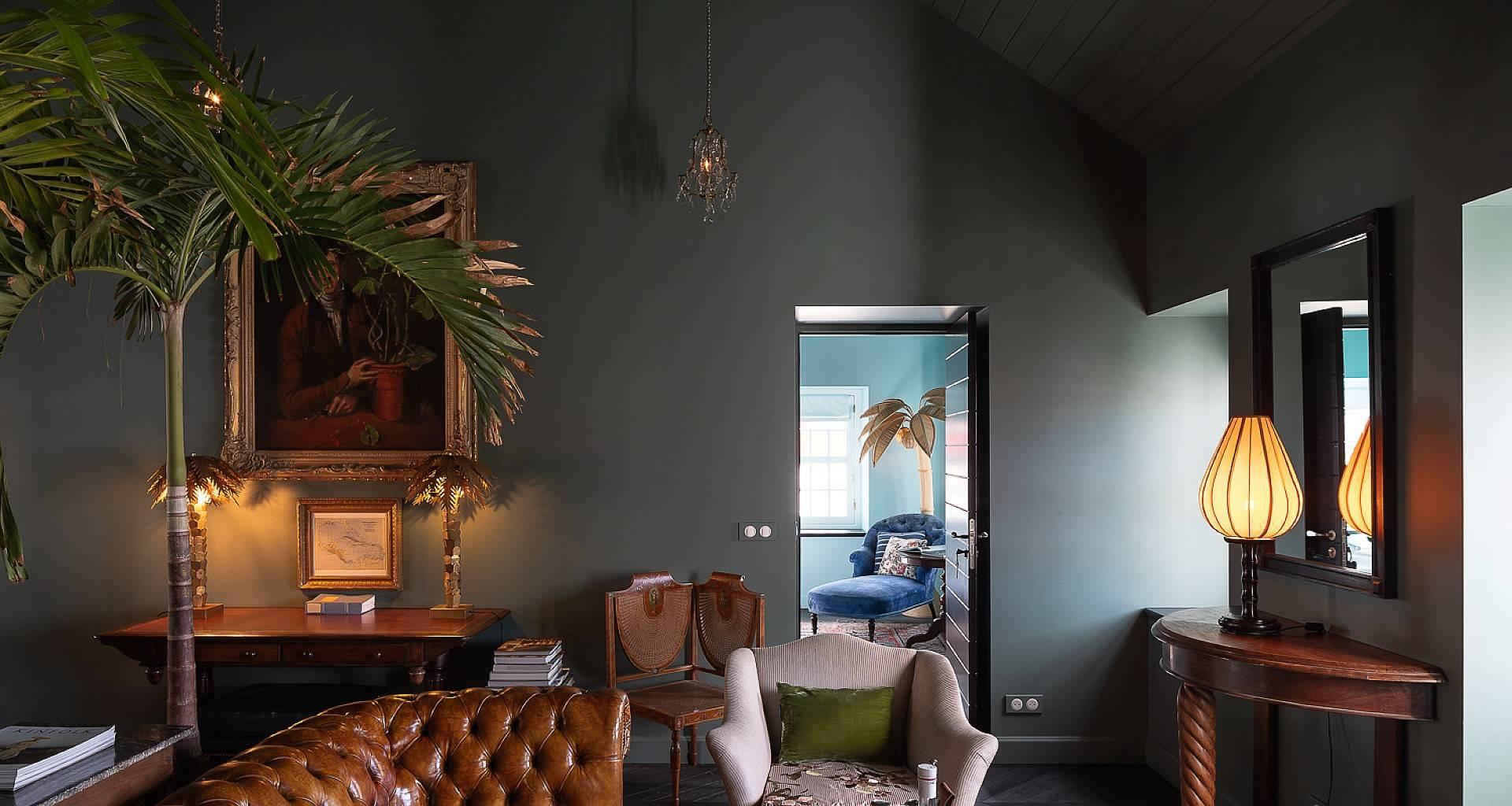 Villa Swedish House Living Area