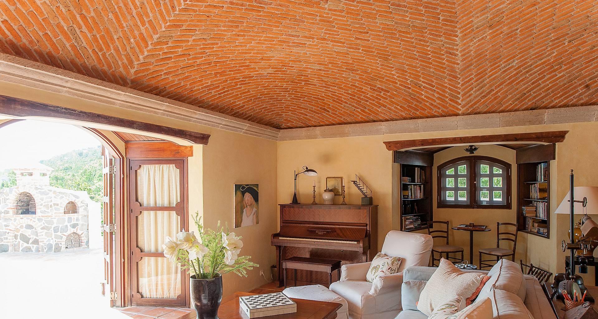 Villa Maison Mexicaine Living Area