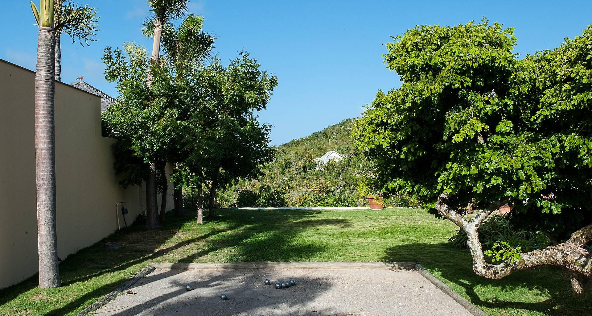 Villa Maison Mexicaine Petanque Court