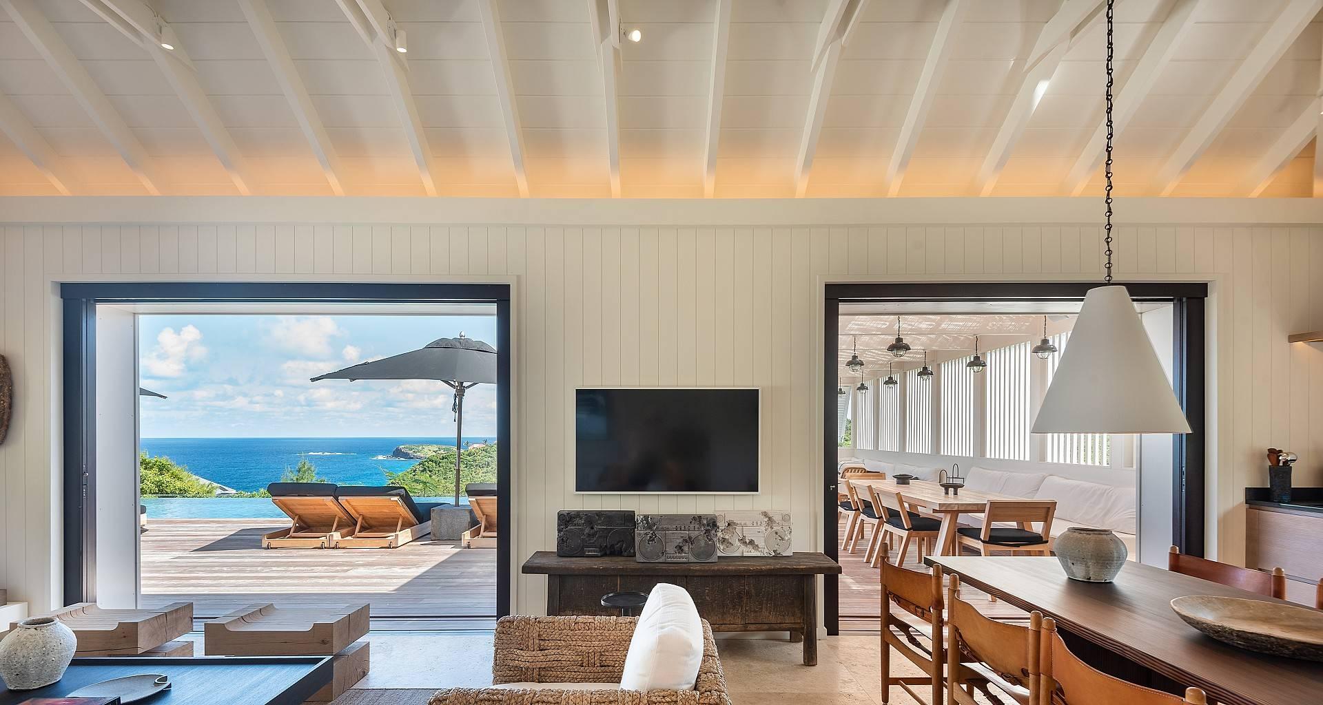 Villa Casa Minotto Living Area