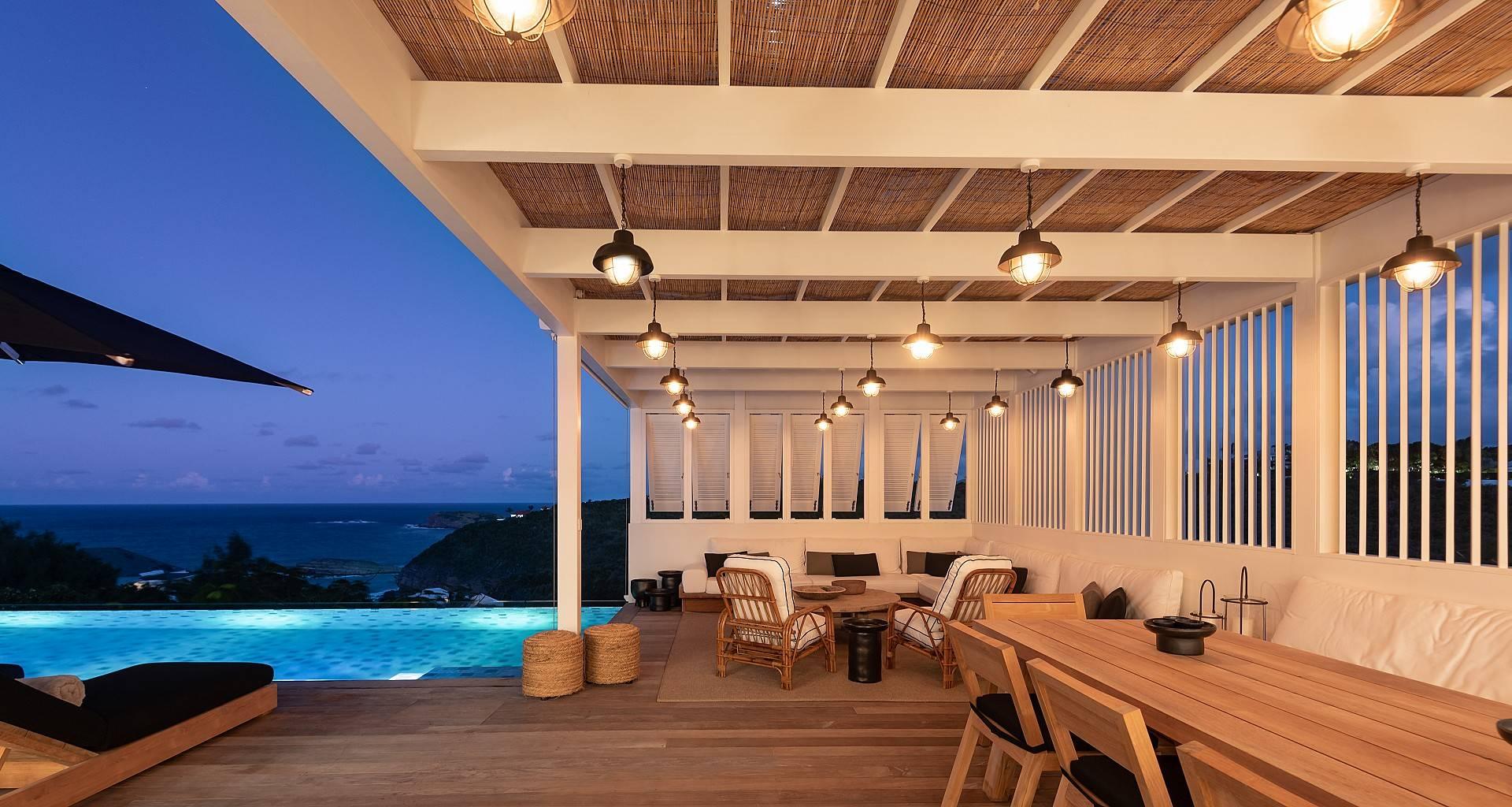Villa Casa Minotto Outside  Sitting Area