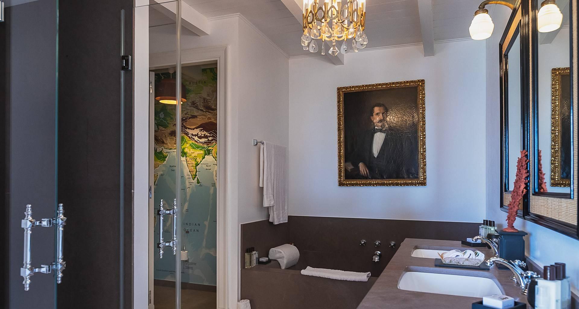 Villa Les Lataniers Voyager's Room