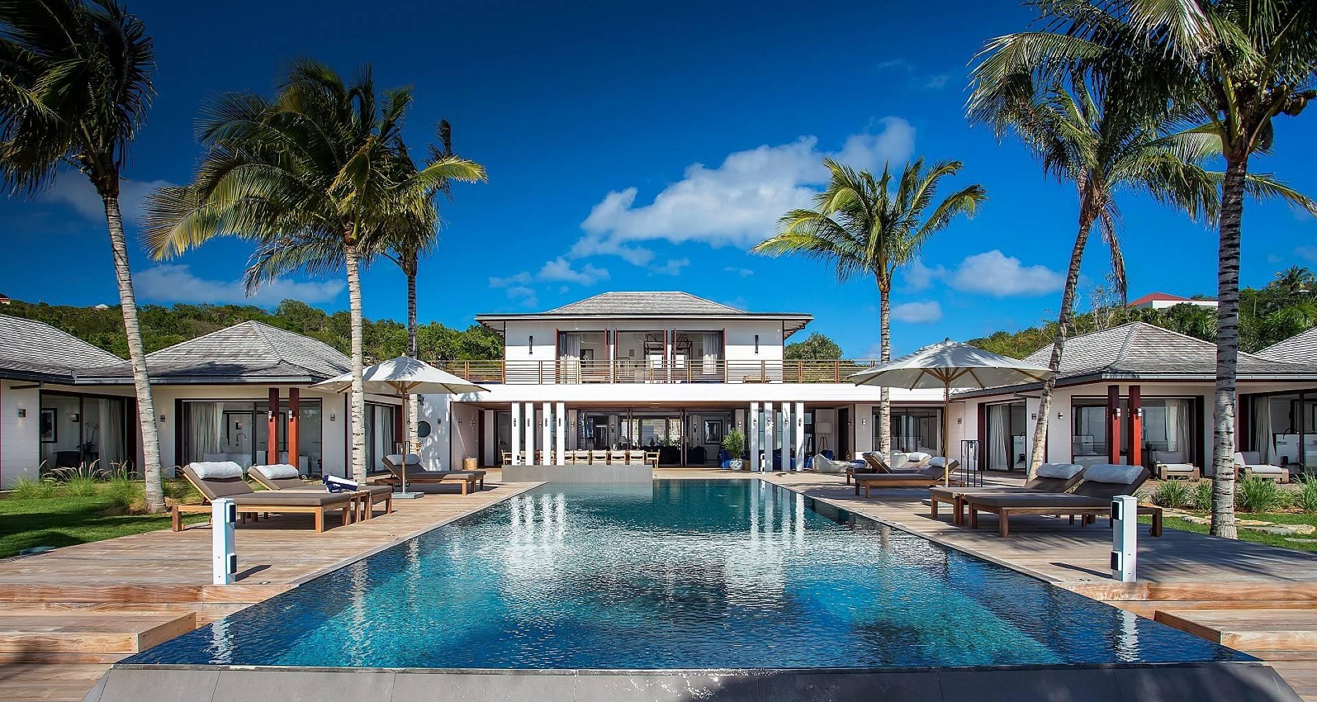 Villa Maison Blanc Bleu