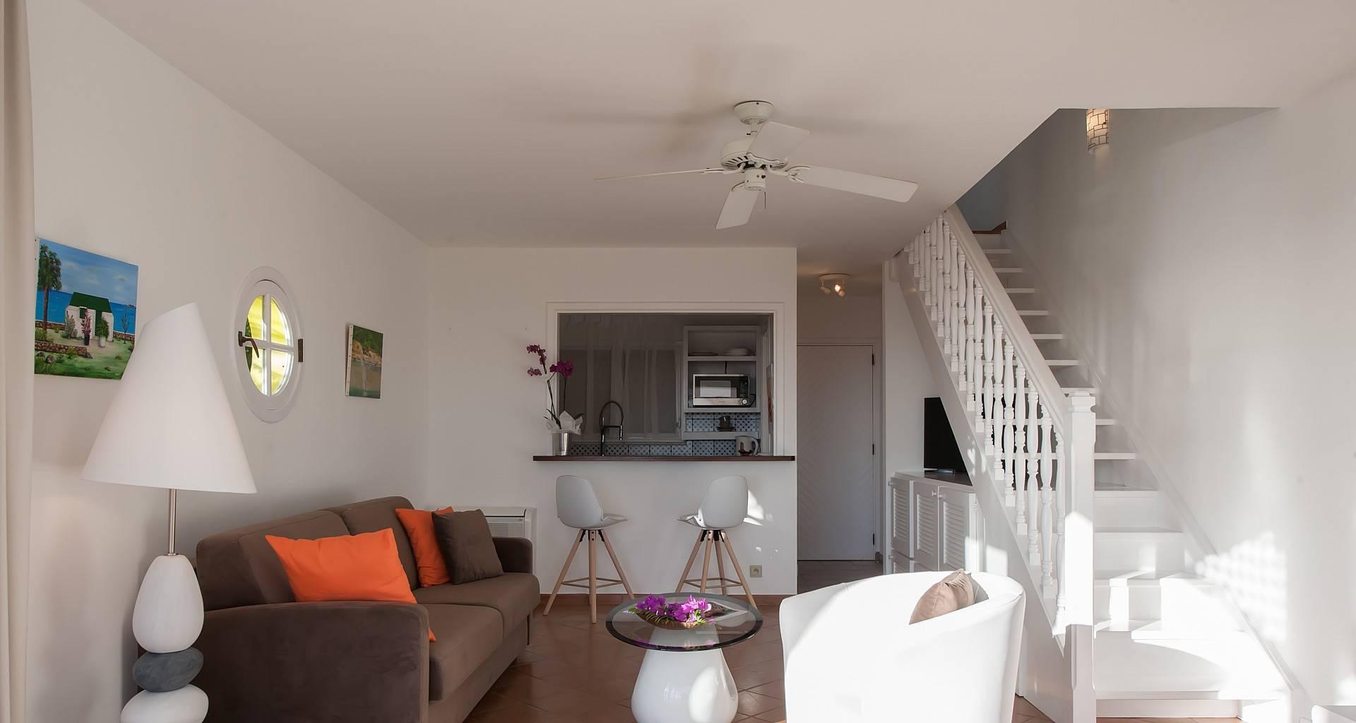 Villa A1 Living Area