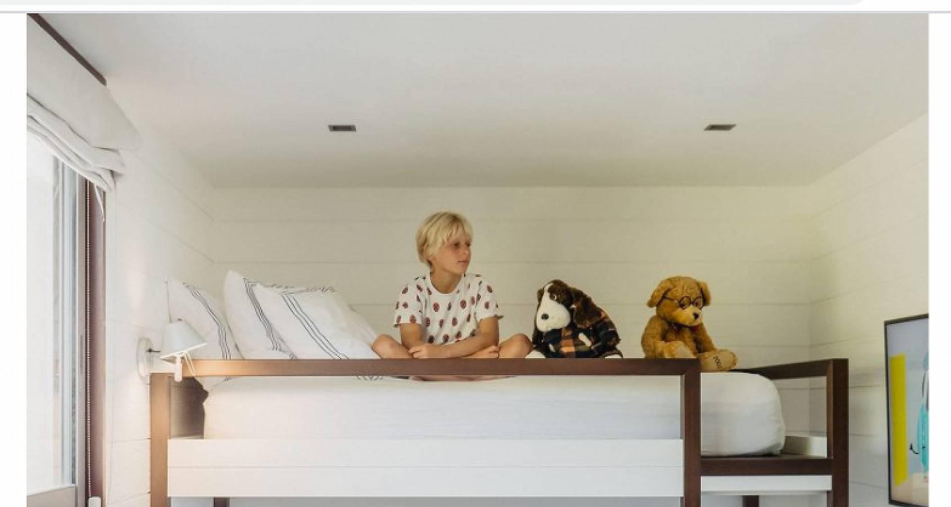 Villa Maison Blanc Bleu Nanny Room