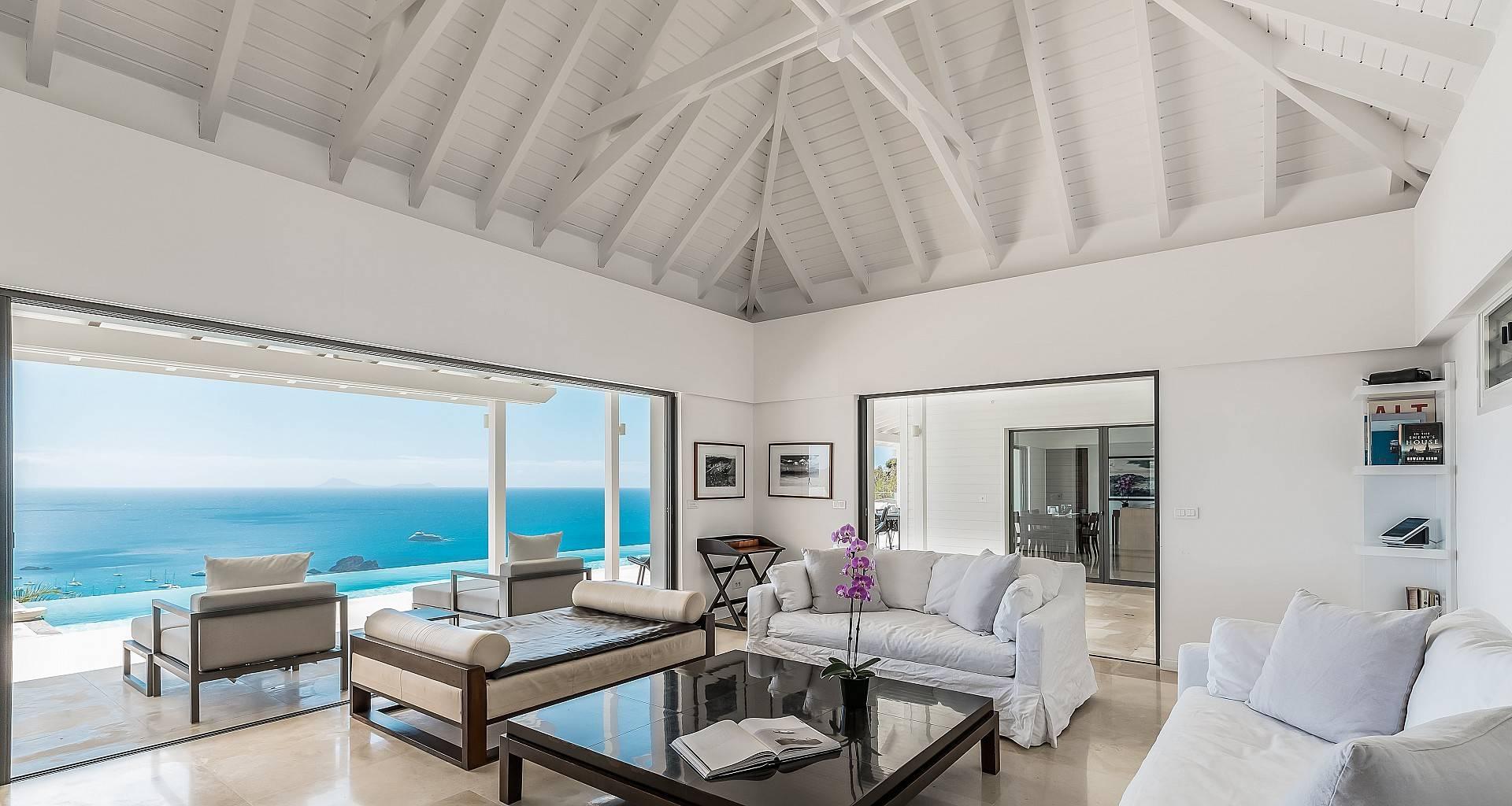 Villa The View Living Area