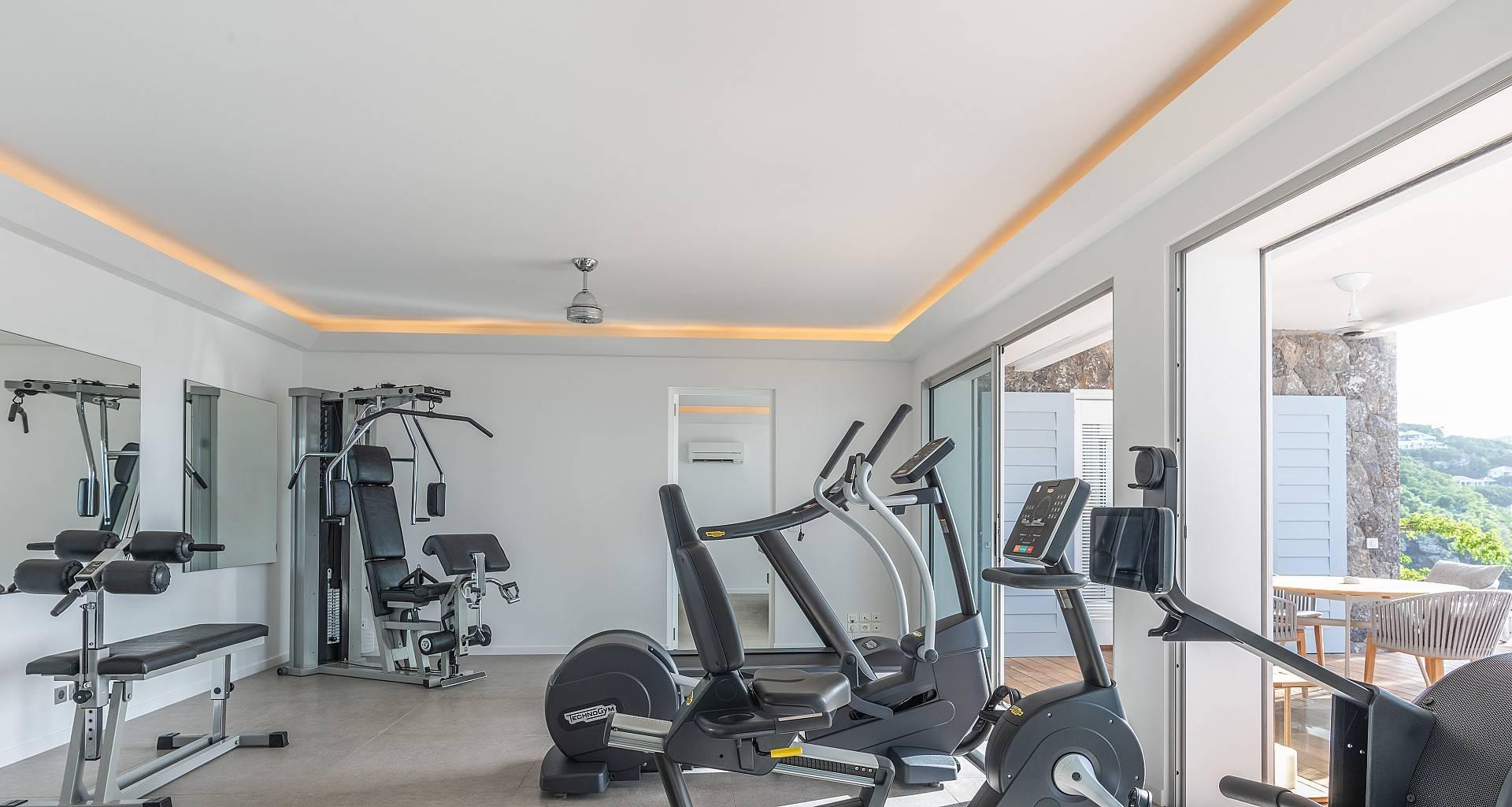 Villa Coco Fitness Room