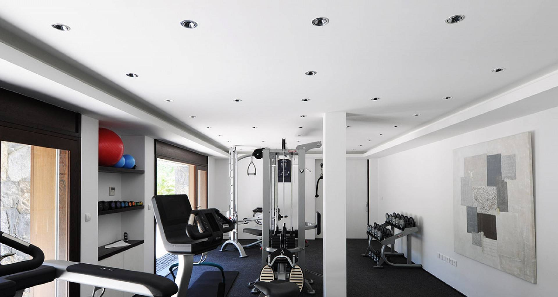 Villa Dunes Fitness Room