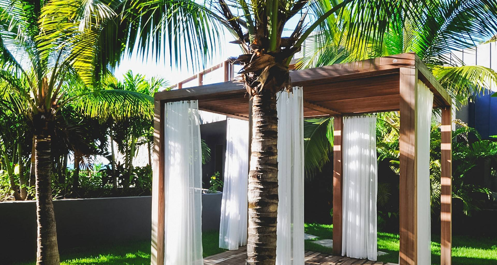 Villa Dunes Massage Gazebo