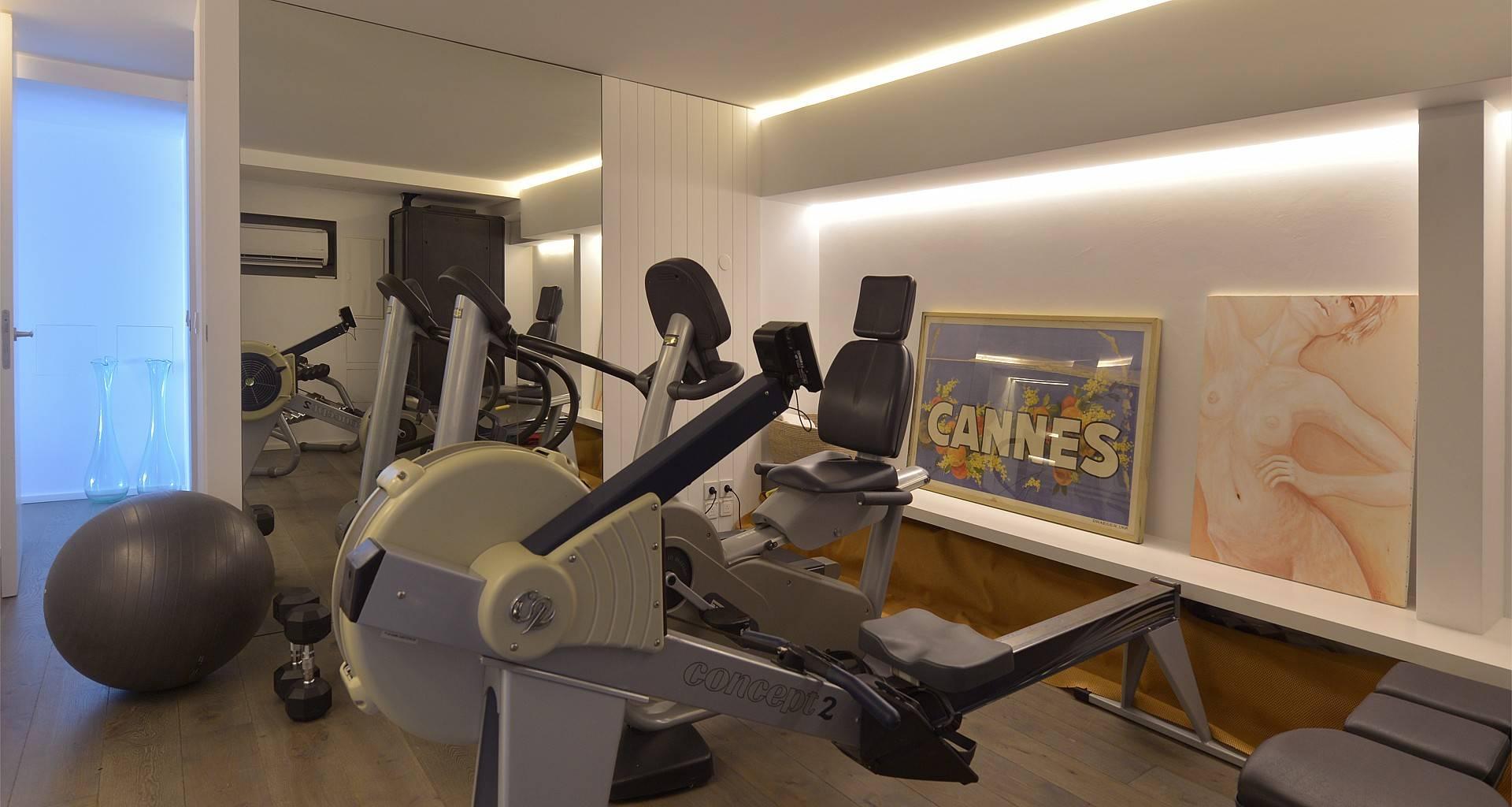 Villa Casa del Mar Fitness Room