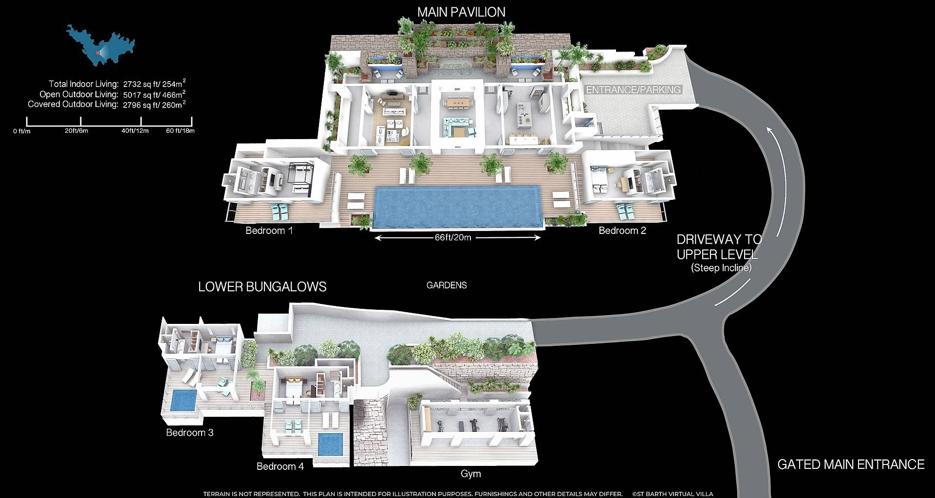 Villa Jasmine Floor Plan