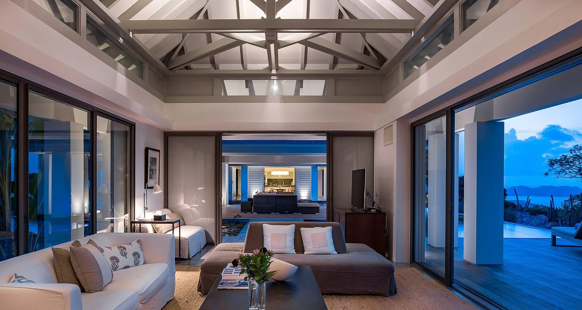 Villa Rose Living Area