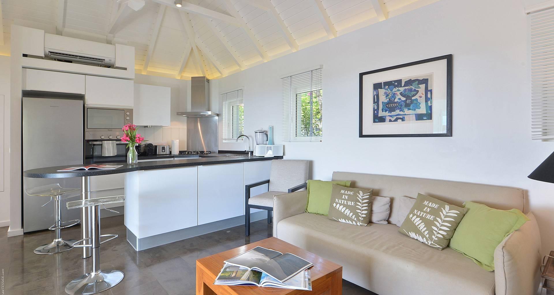 Villa Alphane Living Area