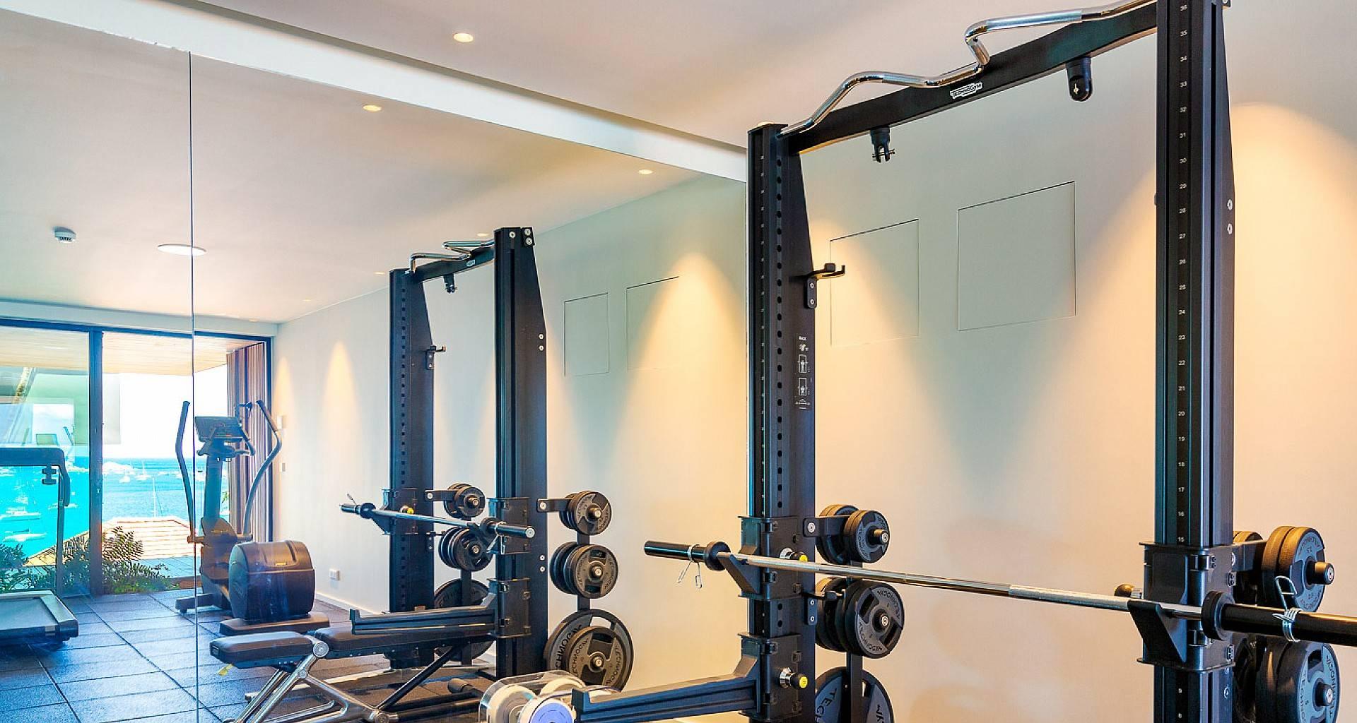 Villa June Fitness Room