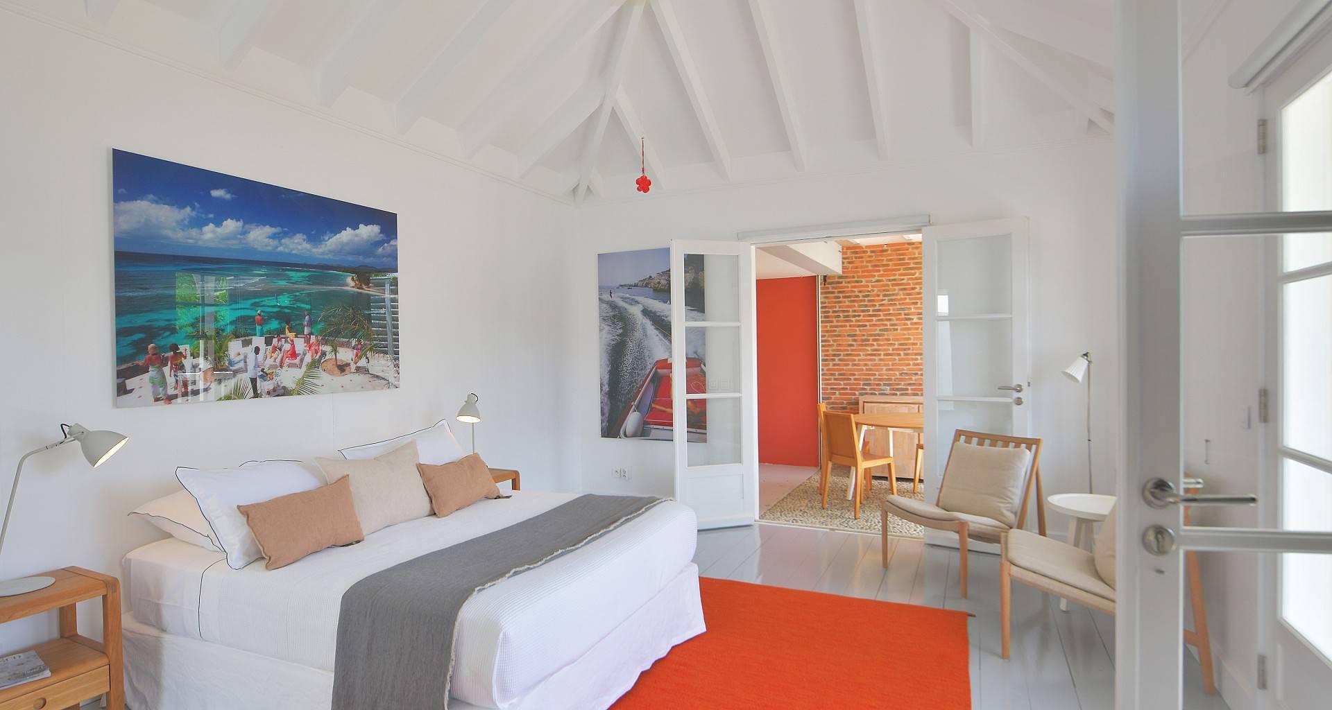 Villa Gustavia Views Bedroom 1