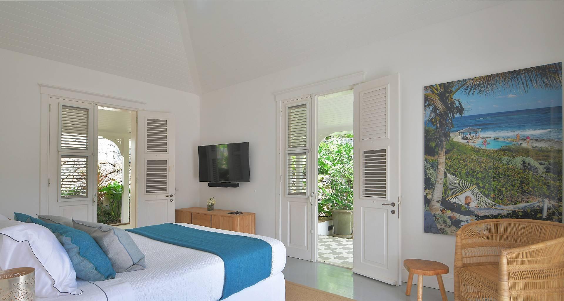 Villa Gustavia Views Bedroom 3
