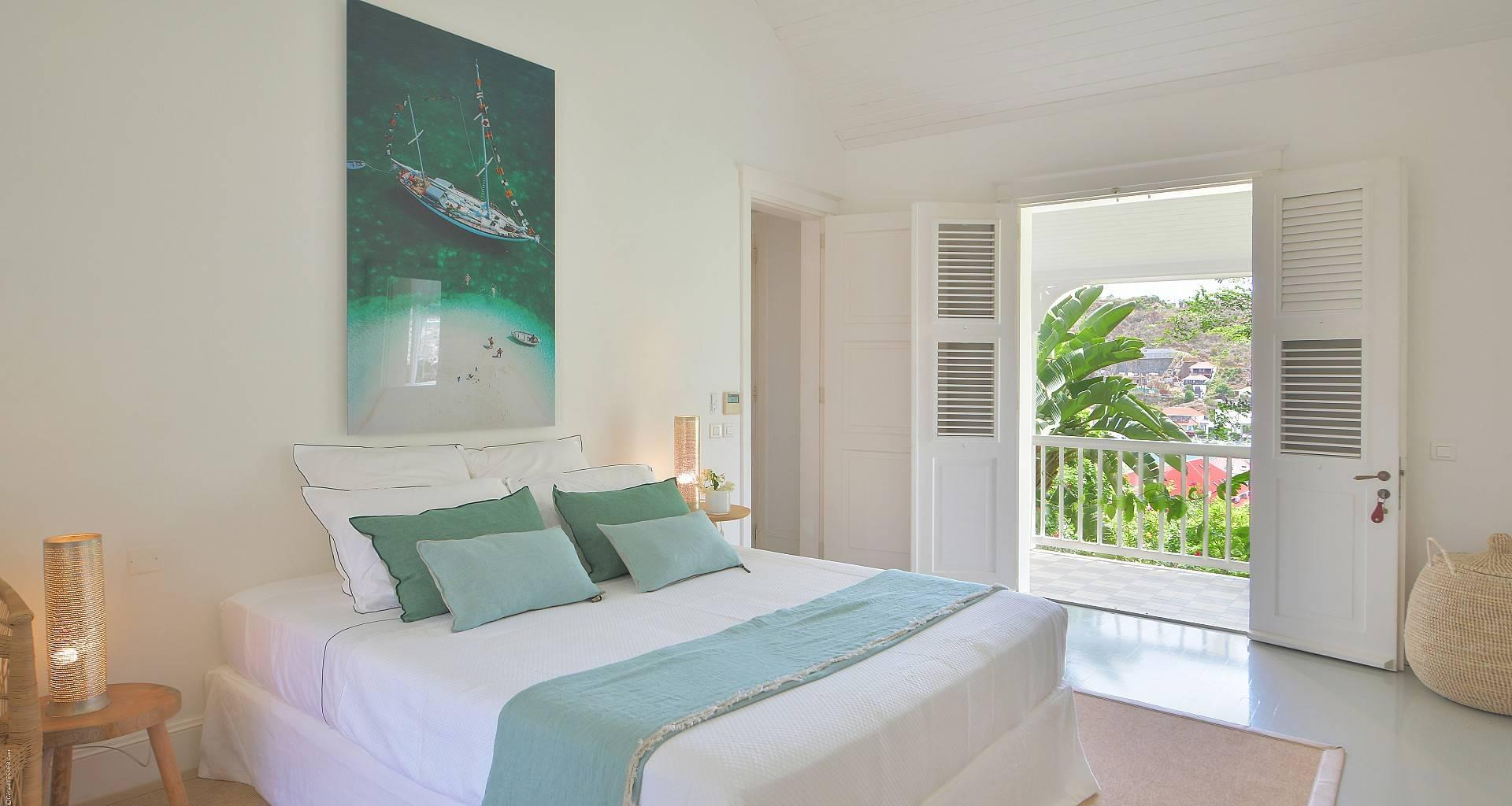 Villa Gustavia Views Bedroom 2