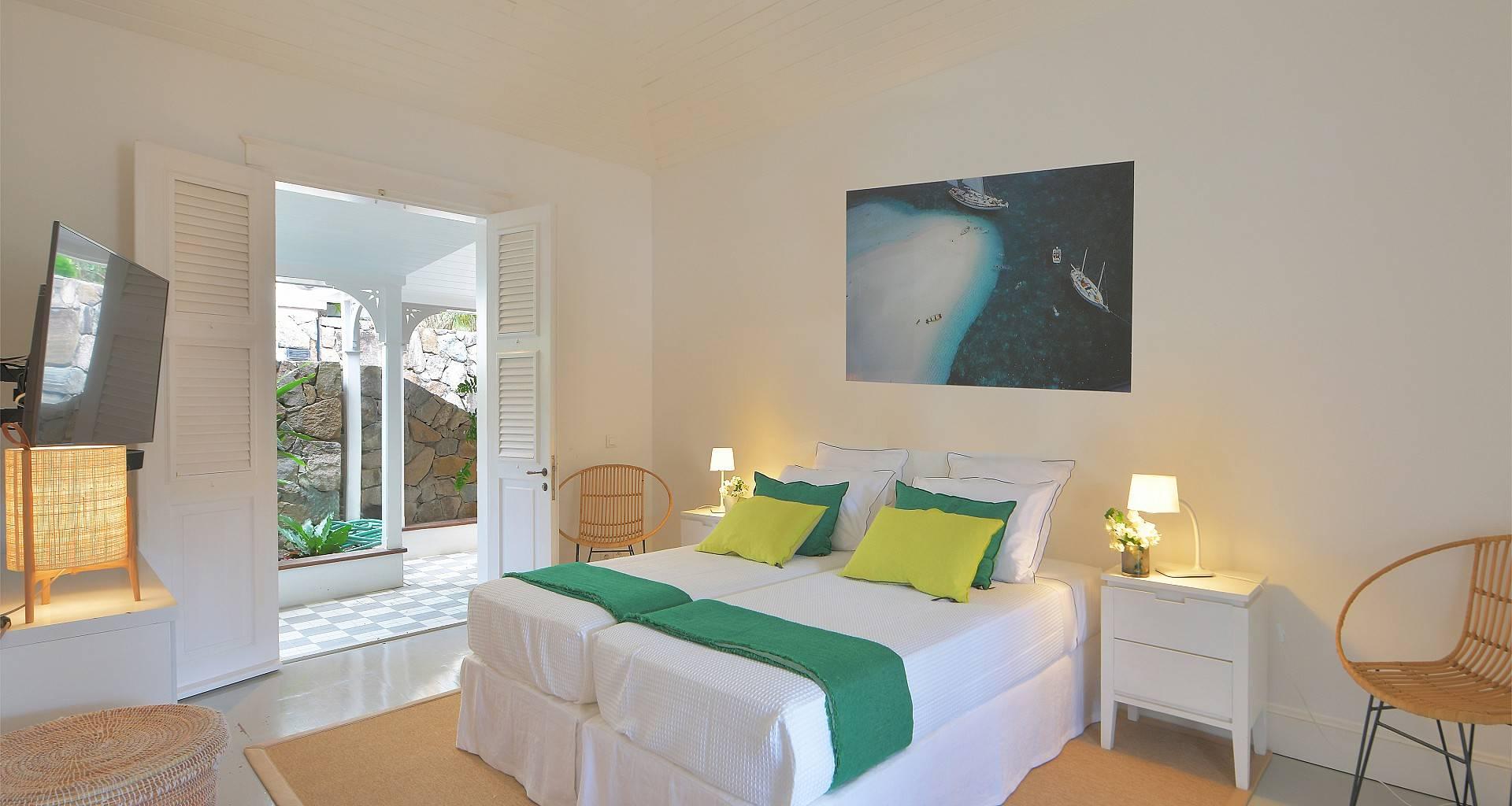 Villa Gustavia Views Bedroom 4
