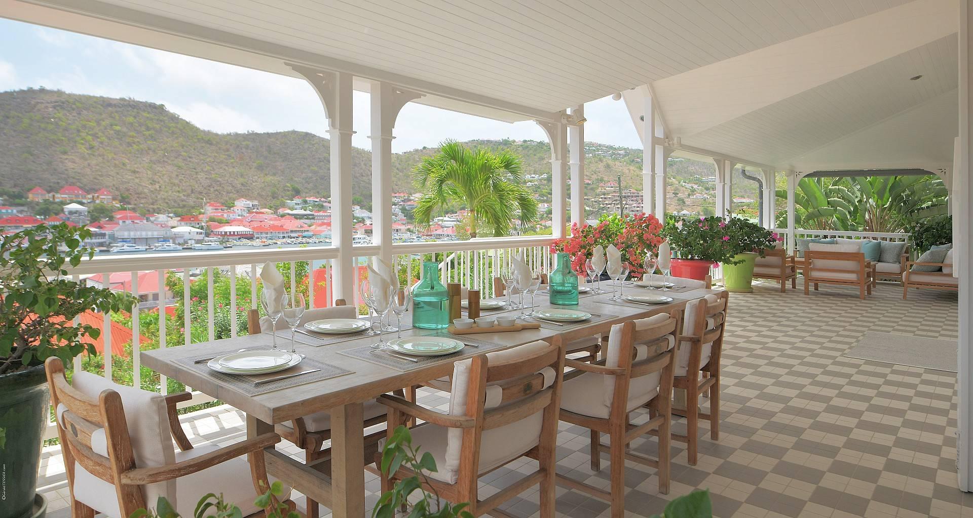 Villa Gustavia Views Outside