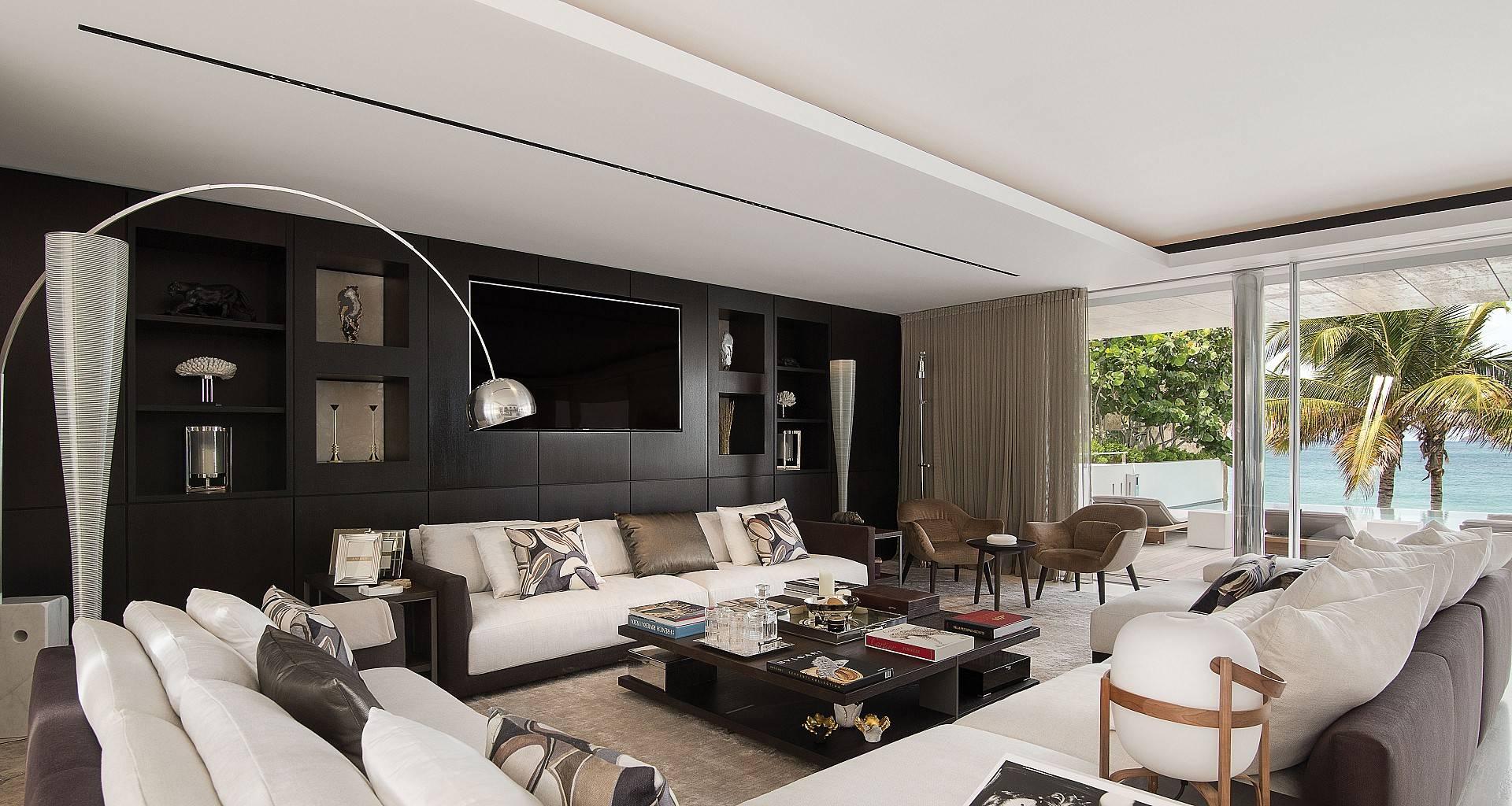 Villa Wake Up Living Area