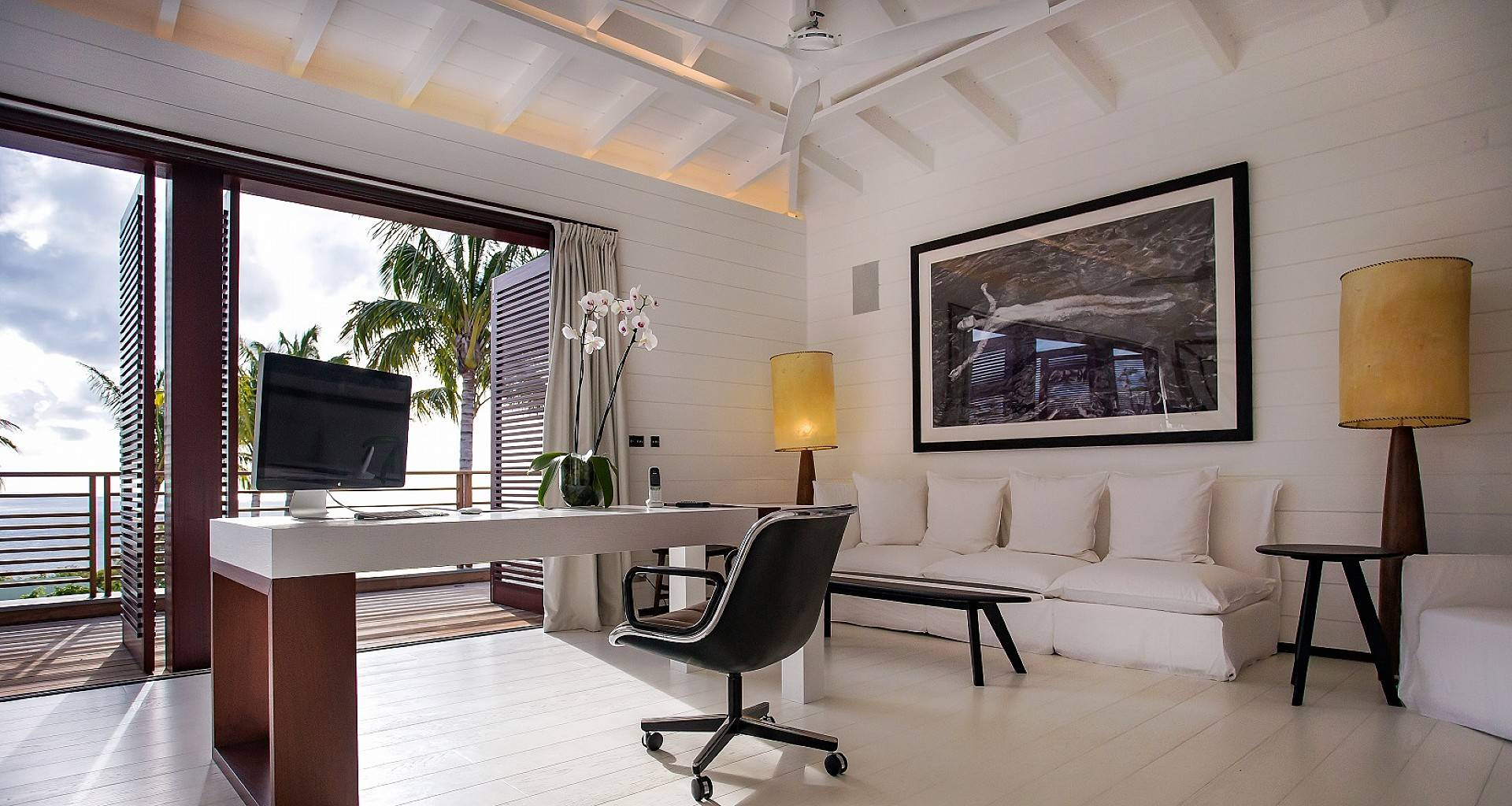 Villa Maison Blanc Bleu Bedroom 1