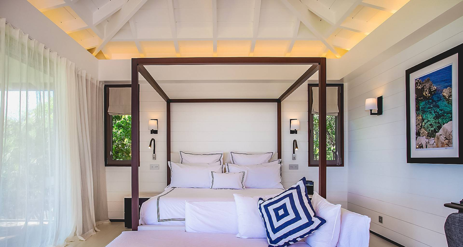 Villa Maison Blanc Bleu Bedroom 2